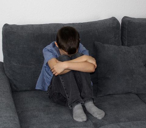 Enfant souffrant de troubles